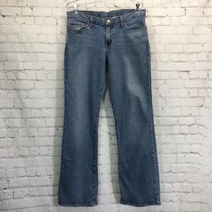 Lucky Mid Rise Flare Stretch Jeans Womans 12 / 31